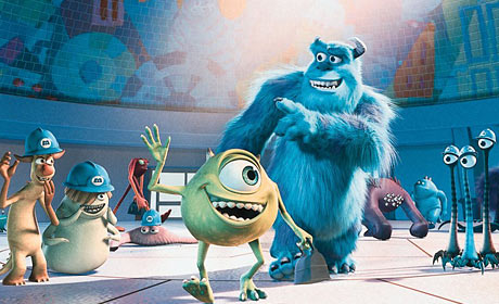 Monsters, Inc  Blu-ray review plus behind-the-scenes clips