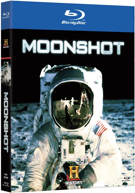 Moonshot Blu-ray packaging