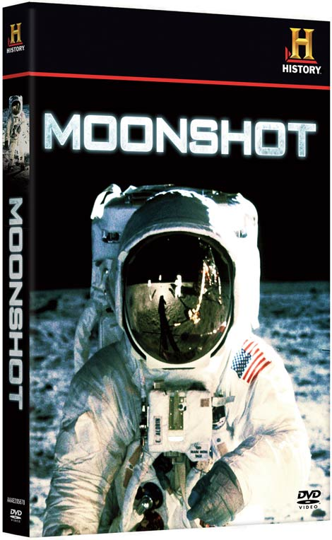 Moonshot DVD packaging