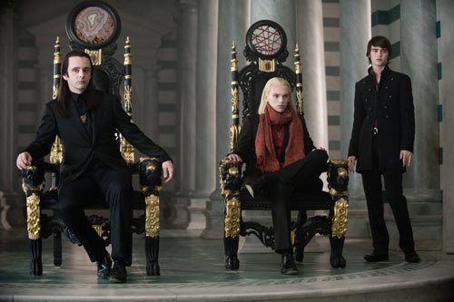 Michael Sheen - Cameron Bright and Jamie Campbell Bower in The Twilight Saga: New Moon