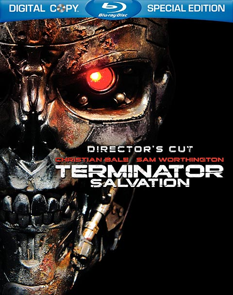 Terminator Salvation Blu-ray packaging