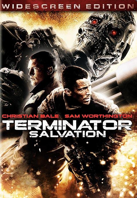 Terminator Salvation DVD packaging