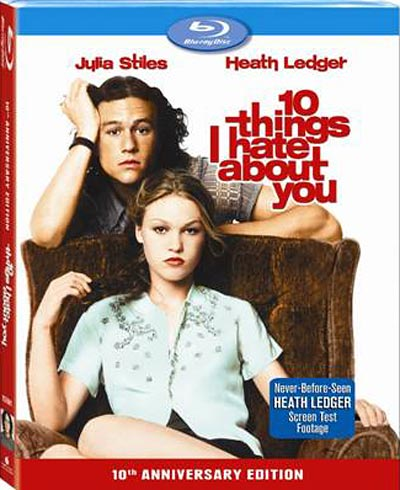10 Things I Hate About You Blu-ray packaging