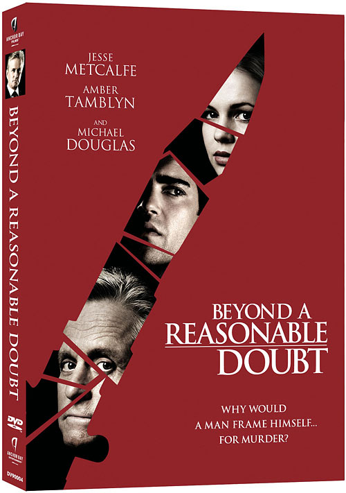 Beyond A Reasonable Doubt DVD packaging