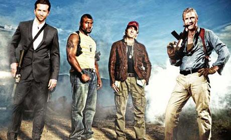 Bradley Cooper - Quinton Rampage Jackson - Sharlto Copley and Liam Neeson are The A-Team