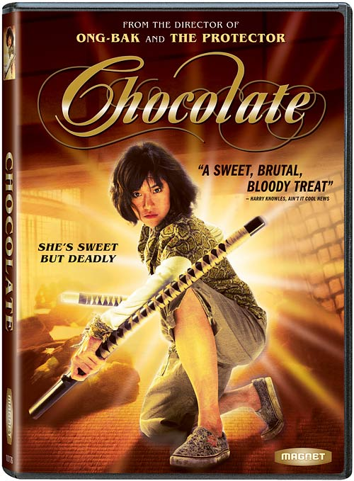 Chocolate DVD packaging
