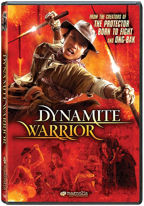 Dynamite Warrior DVD packaging