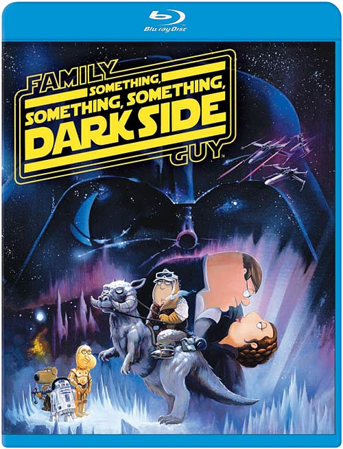 Family Guy: Something Something Something Dark Side Blu-ray package art