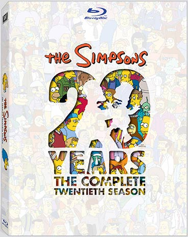 The Simpsons: The Complete Twentieth Season Blu-ray packaging