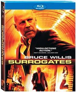 Surrogates Blu-ray disc packaging