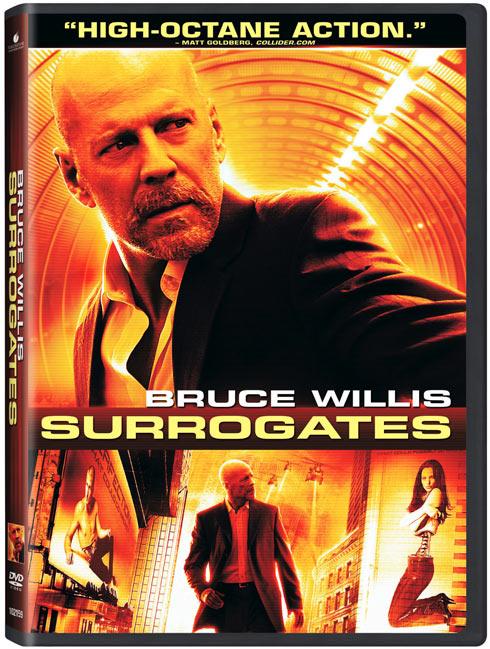 Surrogates DVD packaging