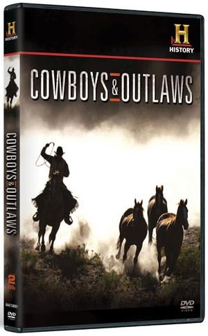 Cowboys and Outlaws DVD packaging
