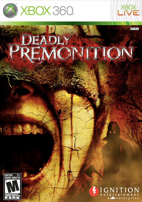 Deadly Premonition XBox 360 packaging