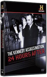 The Kennedy Assassination: 24 Hours After DVD packaging