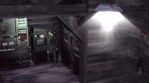 Deadly Premonition gameplay screenshot