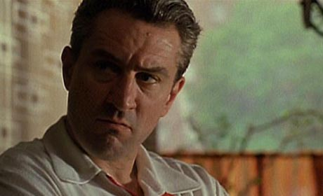 Robert De Niro in the 1990 Martin Scorsese film Goodfellas