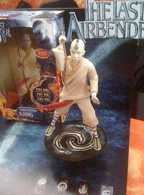 The Last Airbender Aang figure