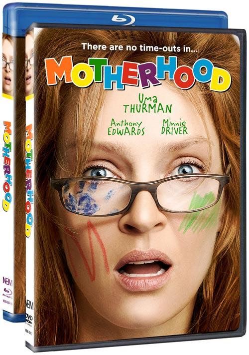 Motherhood DVD and Blu-ray packaging
