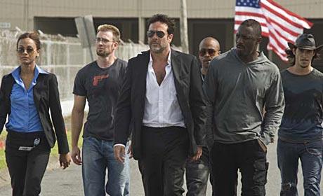Zoe Saldana - Chris Evans - Jeffrey Dean Morgan - Columbus Short - Idris Elba and Oscar Jaenada are The Losers