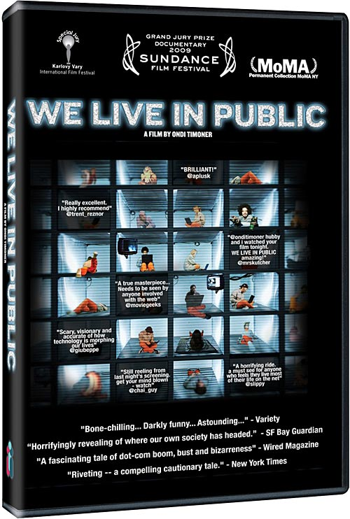We Live in Public DVD packaging