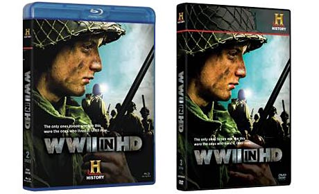 WWII In HD DVD and Blu-ray covers