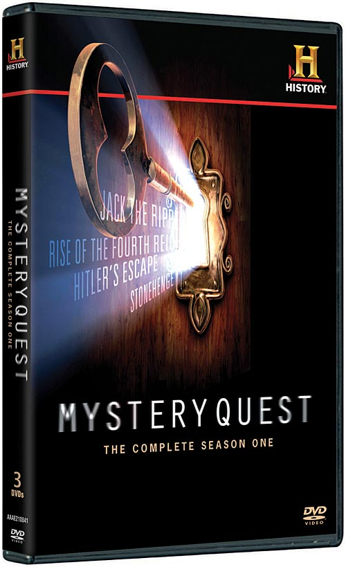 MysteryQuest: The Complete Season One DVD packaging