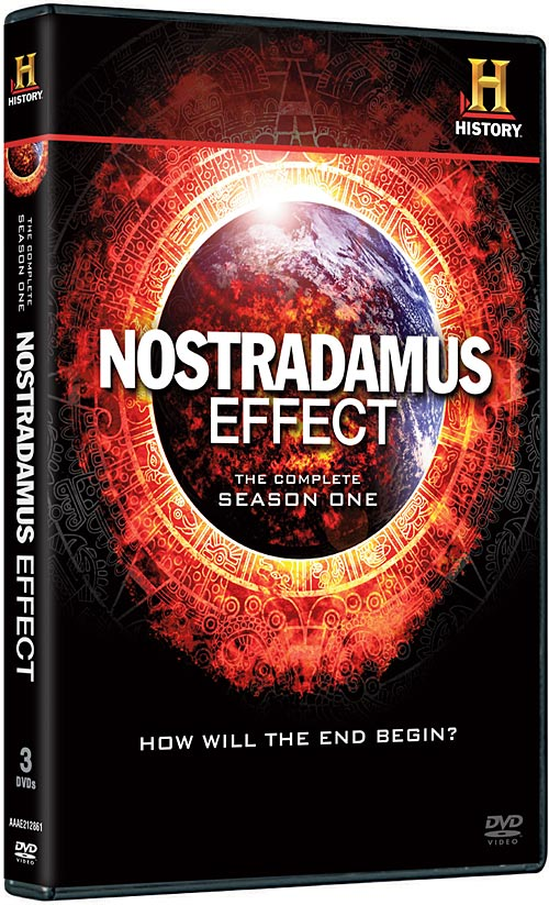Nostradamus Effect: The Complete Season One DVD packaging