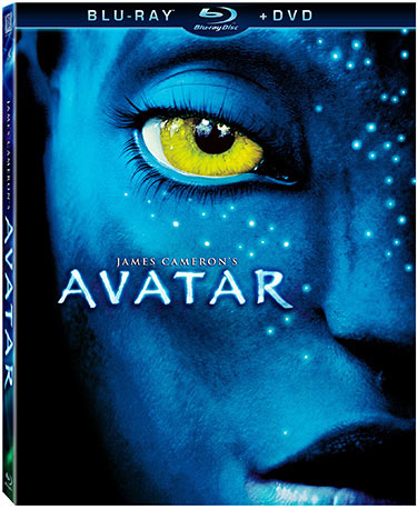 Avatar Blu-ray release packaging
