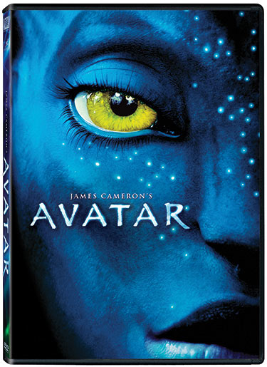 Avatar DVD release packaging