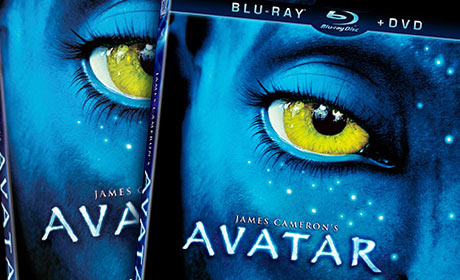 Avatar Blu-ray and DVD release packaging