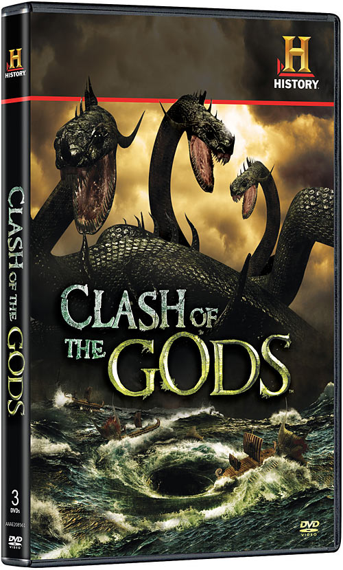 Clash of the Gods: The Complete Season One DVD packaging