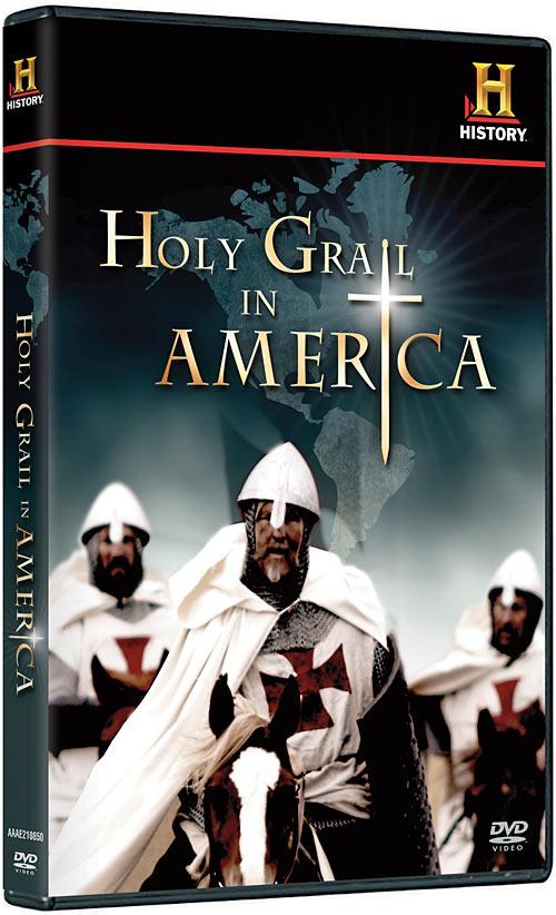 Holy Grail in America DVD packaging
