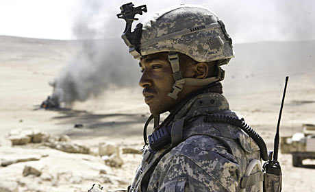 Anthony Mackie in The Hurt Locker the winner for Best Film at the 82nd Annual Academy Awards