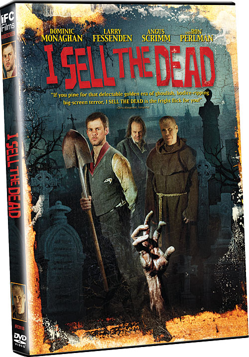 I Sell the Dead DVD packaging