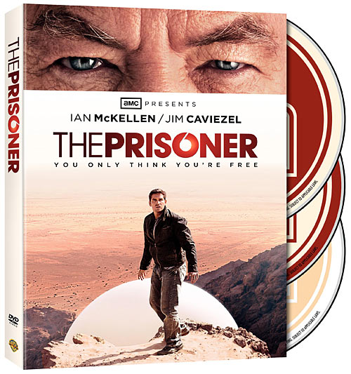 The Prisoner DVD box art