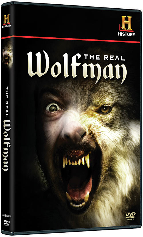 The Real Wolfman DVD packaging