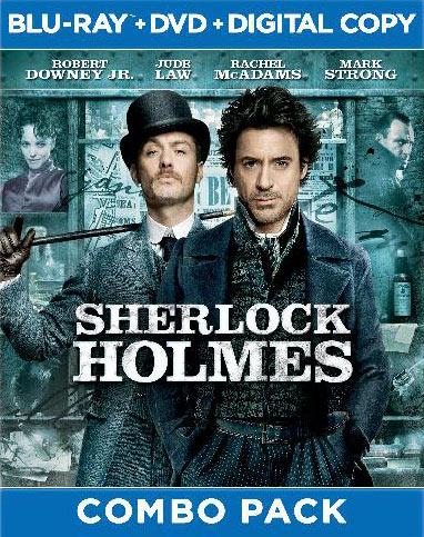 Sherlock Holmes Blu-ray release packaging