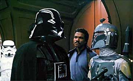 Billy Dee Williams in Star Wars: Episode V - The Empire Strikes Back