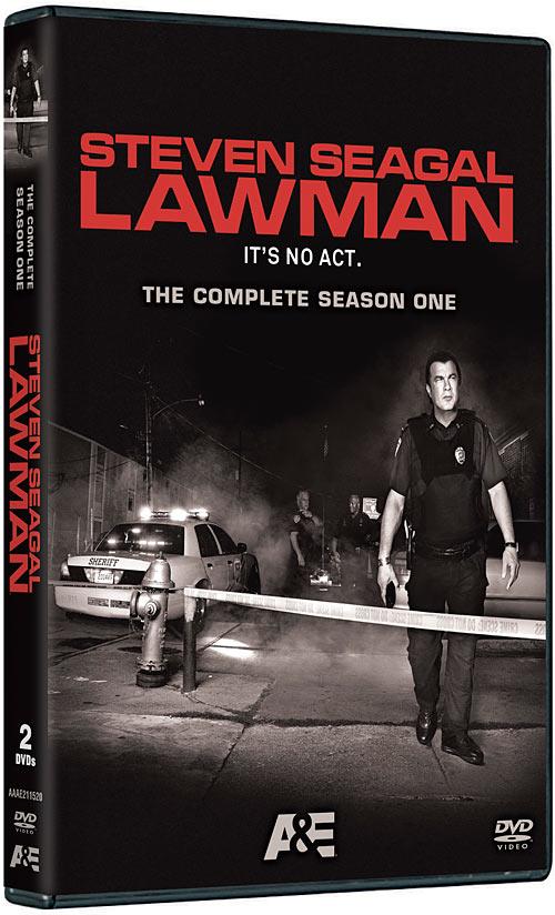 Steven Seagal: Lawman: The Complete Season One DVD packaging