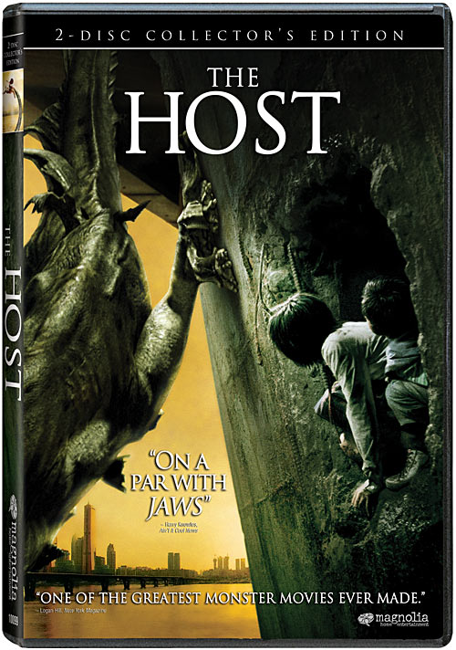 The Host DVD packaging