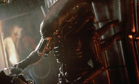A scene from the original Alien
