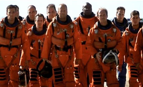 The crew of Armageddon