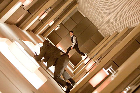 Scene from the Christopher Nolan film Inception