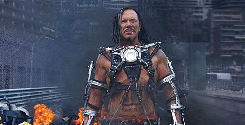 Mickey Rourke is Ivan Vanko in Iron Man 2