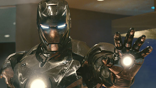 Don Cheadle is War Machine in Iron Man 2