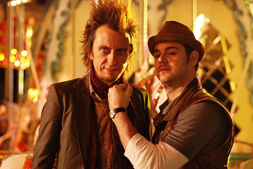 Matt King and Danny Dyer in Malice in Wonderland