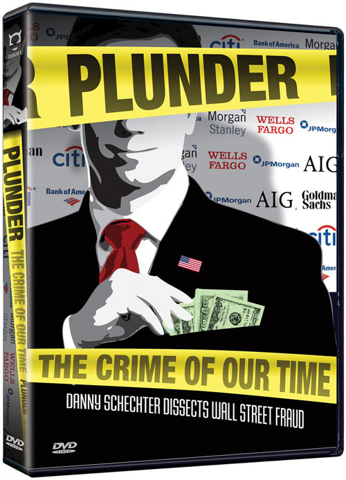 Plunder: The Crime of Our Time DVD packaging