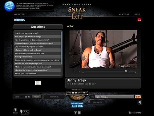 SneakOnTheLot screenshot