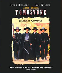 Tombstone Blu-ray packaging