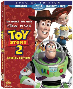 Toy Story 2 Blu-ray packaging